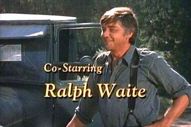 Ralph Waite Waltons opening