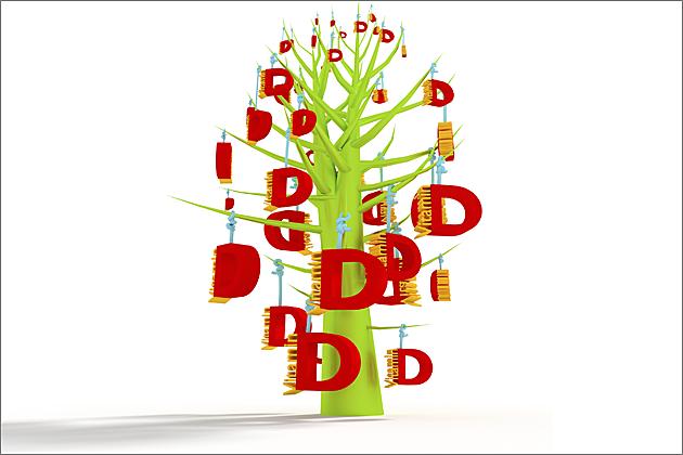 vitamin D tree