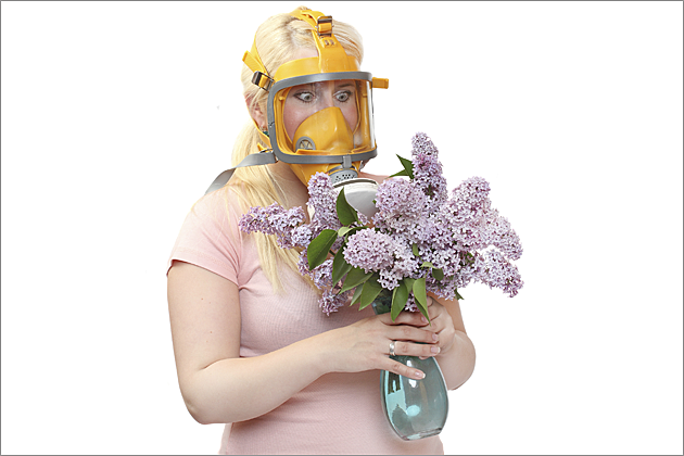 allergy season mask