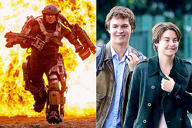Edge of Tomorrow and Fault in Our Stars