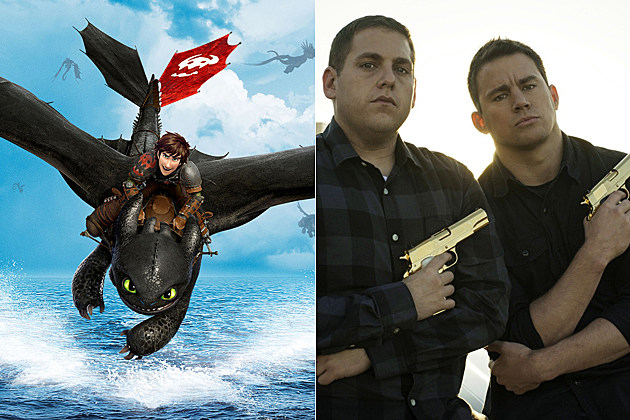 How to Train Your Dragon 2 and 22 Jump Street