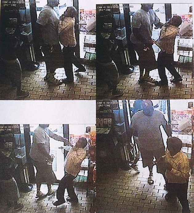 Michael Brown robbery surveillance video