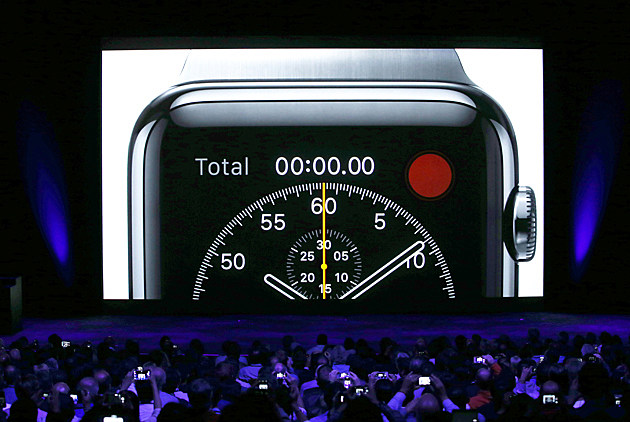 Tim Cook presents Apple Watch