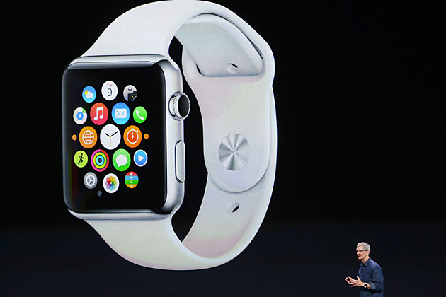 Apple Watch side view
