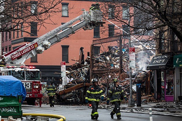 East Village building explosion