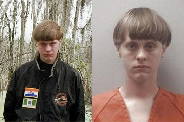 images of Dylann Roof