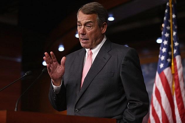 House Speaker John Boehner Announces His Resignation At The Capitol