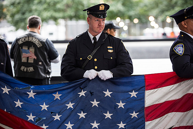 New York Holds Commemoration Ceremony On Anniversary Of 9/11 Attacks