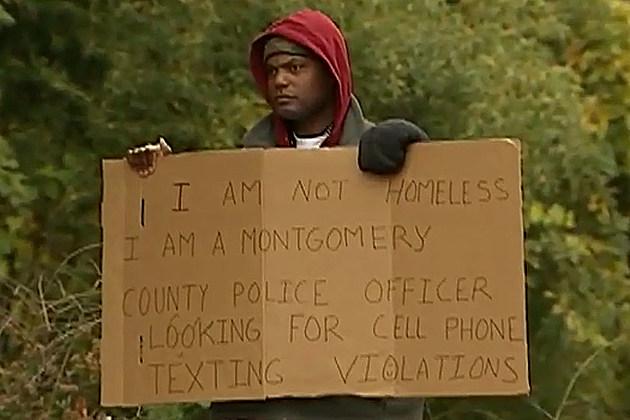 Homeless Cop