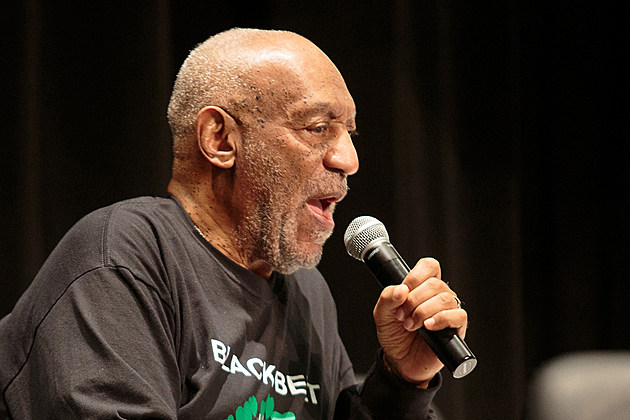 Bill Cosby with microphone