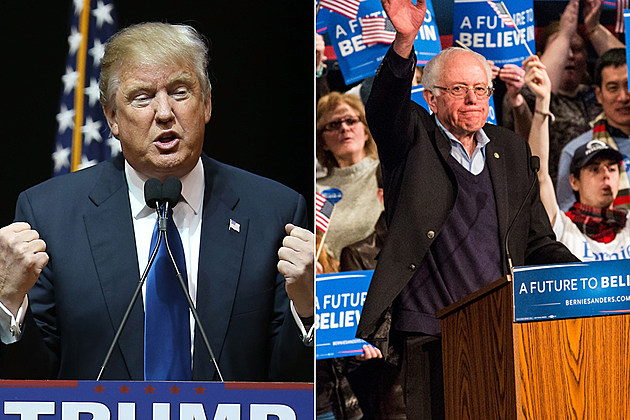 Donald Trump and Bernie Sanders win New Hampshire