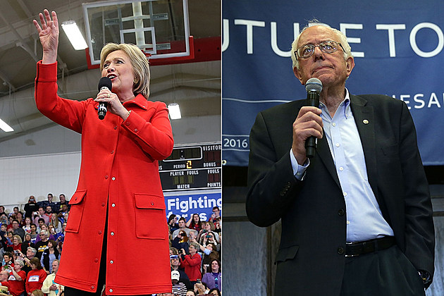 Hillary Clinton and Bernie Sanders tied in Iowa