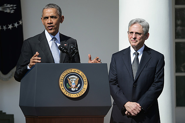 President Obama nominates Merrick Garland to the Supreme Court