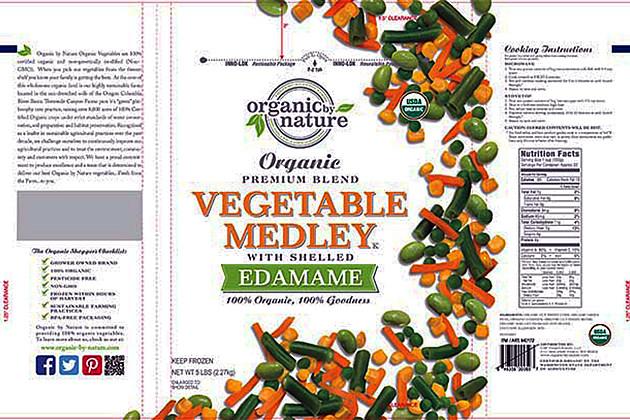CRF Frozen Foods vegetables recall