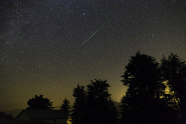 Perseid Meteor Shower, August 13th 2015