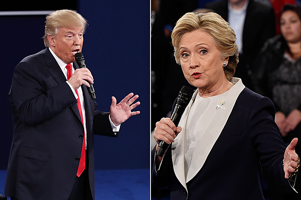 Watch Highlights From Last Night's Second Presidential Debate