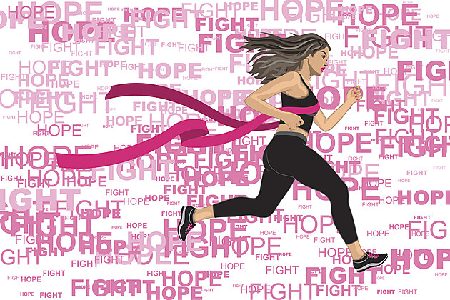 breast cancer exercise woman