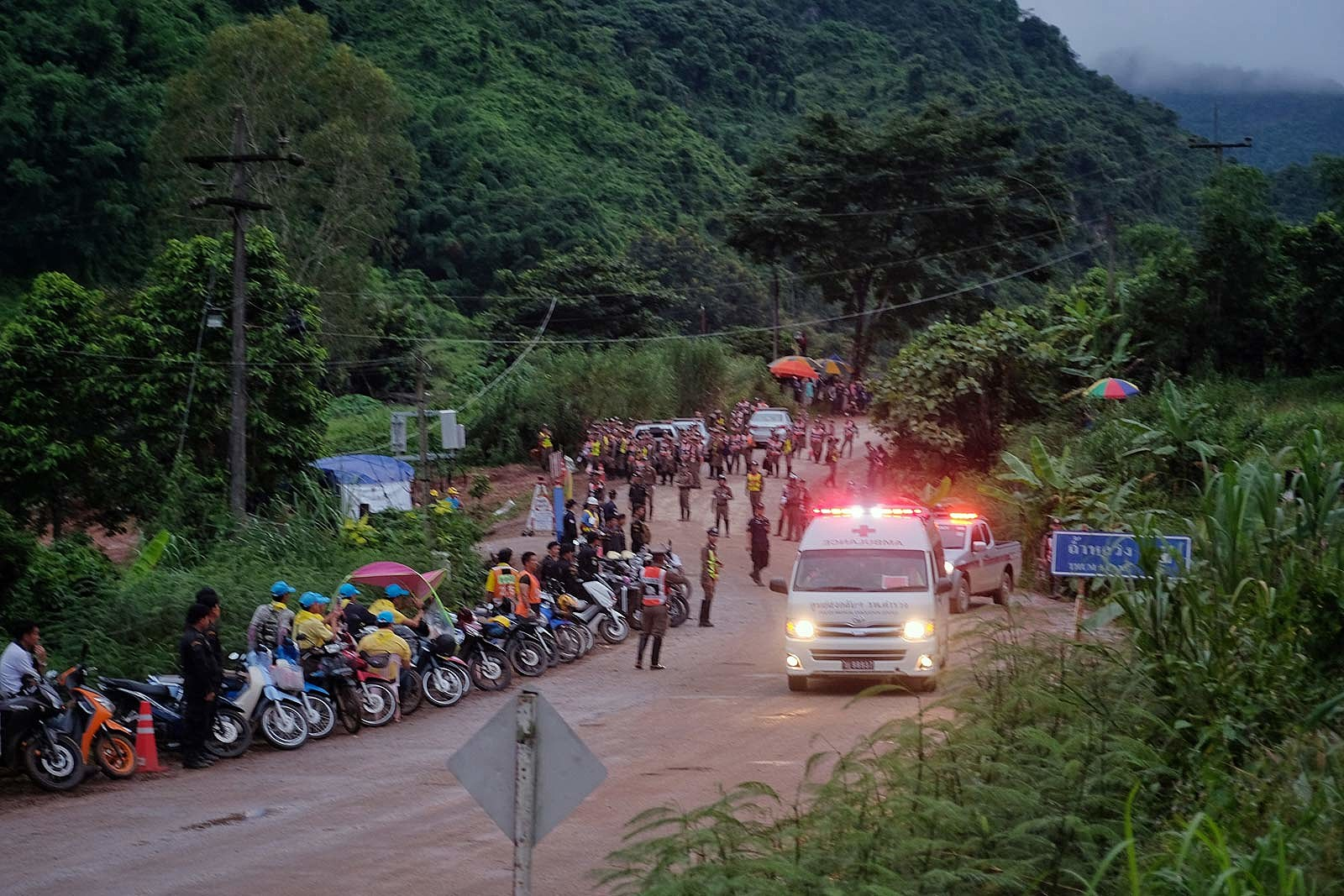Soccer Team Freed From Thai Cave